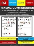 Reading Comprehension Symbol Assisted Passages for ESL Rea