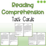 Elementary Reading Comprehension Task Cards