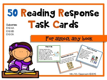 50 Reading Comprehension Task Cards