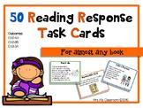 50 Reading Comprehension Task Cards