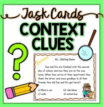 Inference Task Cards BUNDLE