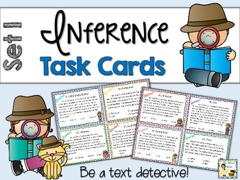 Inference Task Cards - Set 1