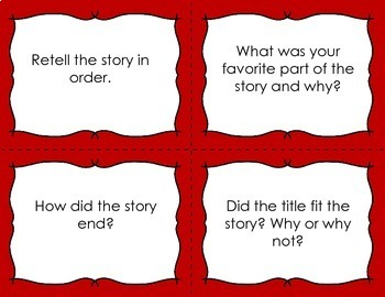 Reading Comprehension Task Cards {Fiction and Non-Fiction}