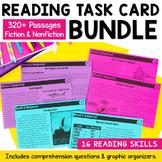 Reading Comprehension Task Cards - Growing Bundle