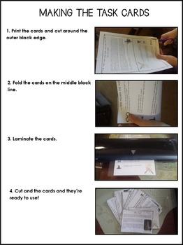 QAR Reading Comprehension Task Cards