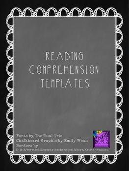 Reading Comprehension Templates (English)