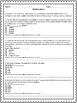 Reading Comprehension: Test Practice #1
