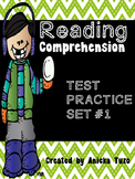 Reading Comprehension: Test Practice #1