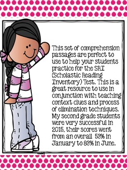 Reading Comprehension: Test Practice #2 (SRI)