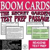Reading Comprehension Test Prep The Secret Garden Quiz Pas