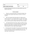 Reading Comprehension Test: The New Teacher