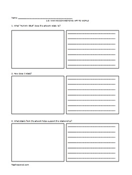Reading Comprehension: Text to World in a Text-Free Environment