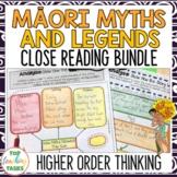 Māori Myths and Legends Traditional Literature Passages an