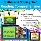 """Reading Comprehension & Textual Evidence Questions on  """"La"""