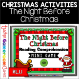 Reading Comprehension - The Night Before Christmas Mini Game