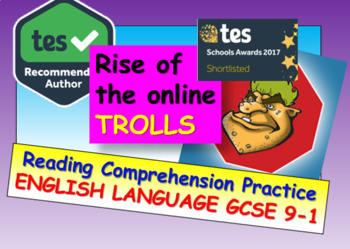 Reading Comprehension: The Rise of the Online Trolls