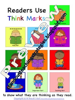 Reading Comprehension Think Marks