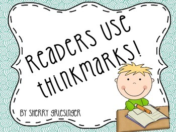 Reading Fiction: Thinkmarks - Common Core Monitoring Comprehension