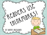 Reading Fiction: Thinkmarks - Common Core Monitoring Compr