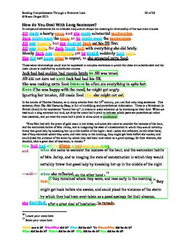 Reading Comprehension Through a Grammar Lens