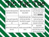 Reading Comprehension Tic Tac Toe