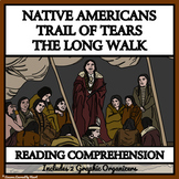 Trail of Tears and the Long Walk - Printable Reading Passages & Comprehension