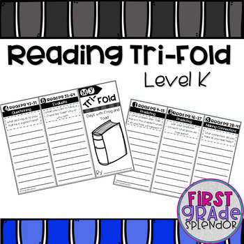 Reading Comprehension Tri-Fold - Level K
