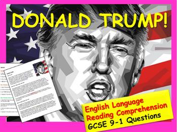Reading Comprehension: Trump