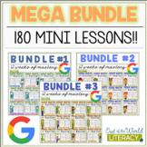 Reading Mini Units for Mastery- MEGA Bundle! - Distance Le