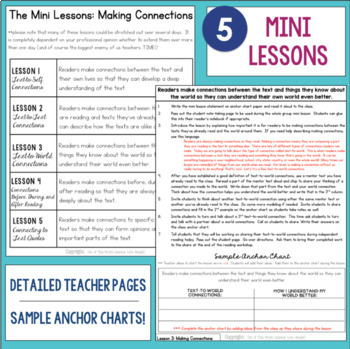 Reading Comprehension Units for Mastery- Making Connections
