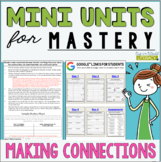 Reading Mini Unit for Mastery- Making Connections | Distan