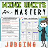 Reading Comprehension Mini Unit for Mastery- Making Judgments