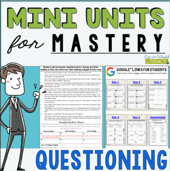 Reading Comprehension Units for Mastery- Questioning