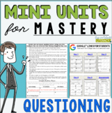 Reading Mini Unit for Mastery- Questioning | Distance Lear
