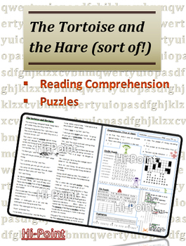 Reading Comprehension: Variation of the Tortoise and the Hare for ESL