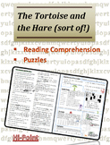 Reading Comprehension & Puzzles: Variation of the Tortoise and the Hare for ESL