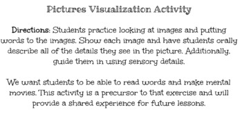 Reading Comprehension Visualization Differentiation activities