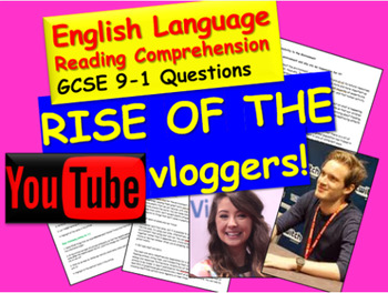 Reading Comprehension: Vloggers