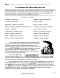 Reading Comprehension / Vocabulary Lesson + 12 Questions ANNIE OAKLEY MEETS...