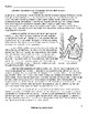 Reading Comprehension/Vocabulary Test Juliette Low's Girl Scouts w/ 20 Questions