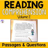 Reading Comprehension Passages (Second Grade) Set #2