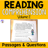 Reading Comprehension Passages (Set #2)