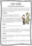 Reading Comprehension WW2 Evacuees With Skill Specific Que