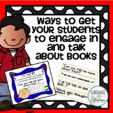 Reading Comprehension:Ways to get Your Students to Talk ab