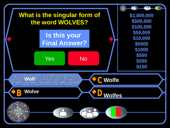 Reading Comprehension Who Wants to Be a Millionaire