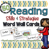 Reading Word Wall Cards
