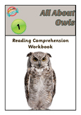 Reading Comprehension Workbook - All About Owls - Workshee