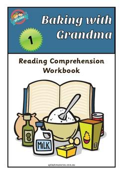 Reading Comprehension Workbook - Baking with Grandma