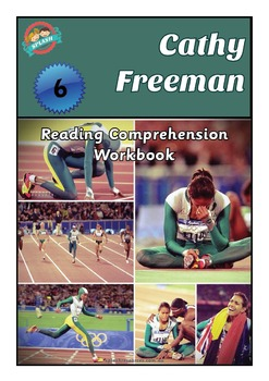 Reading Comprehension Workbook - Cathy Freeman - Australian Olympian non fiction