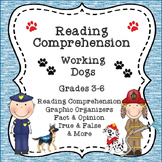 Reading Comprehension:  Working Dogs